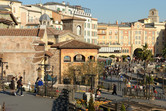 Mediterranean Harbor past the entrance