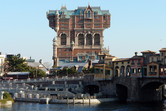 Tokyo DisneySea's uniquely designed Tower of Terror attraction