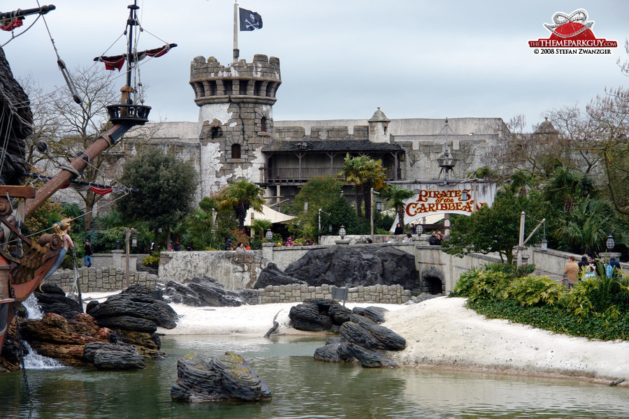 Pirates of the Caribbean building
