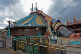 Space Mountain at Disneyland Paris
