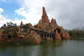 Big Thunder Mountain roller coaster