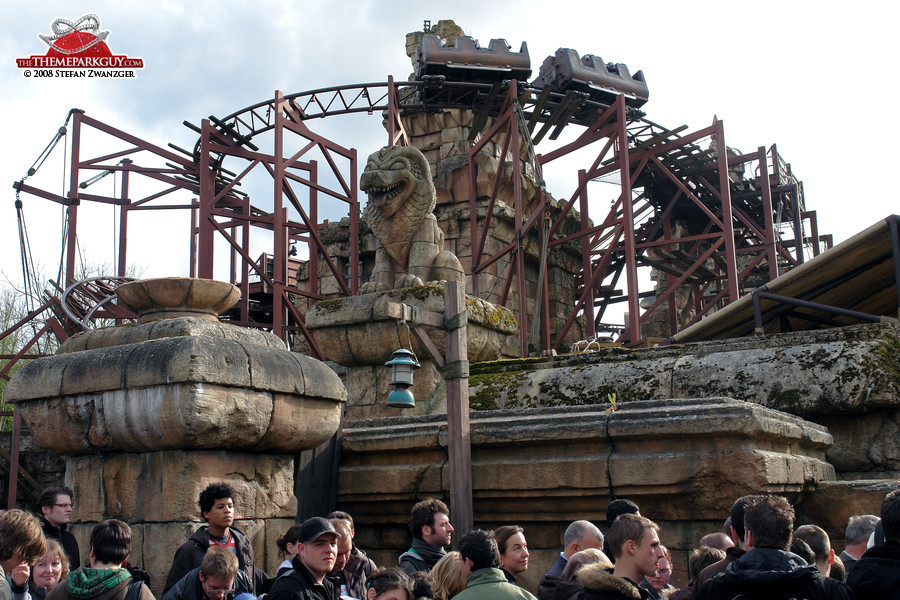 Indiana Jones coaster