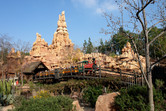 This classic Disney mountain roller coaster can be found in various Disney parks