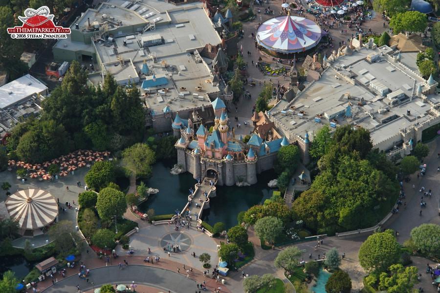 The original Disneyland castle