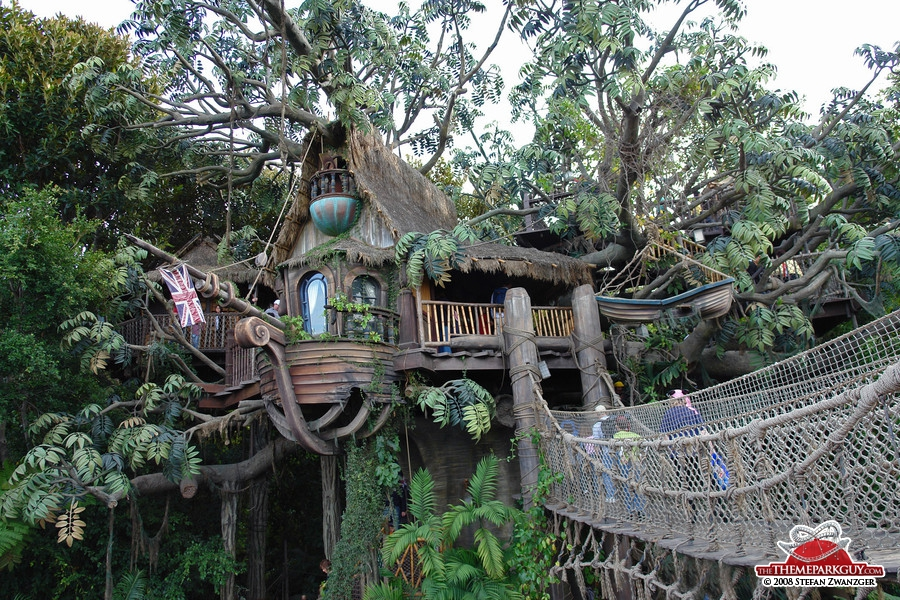Tarzan's Treehouse walk-through attraction