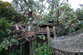Tarzan's Treehouse walk-through attraction