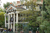 Haunted Mansion ghost train