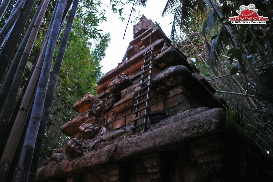Indiana Jones temple