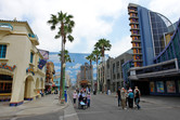 California Adventure street vista