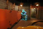 Monsters, Inc. ride, unique to this Disney park