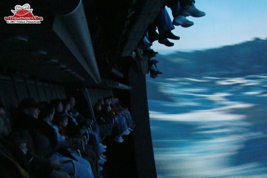The multidimensional Soarin' cinema experience