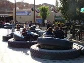 Family ride at Cars Land