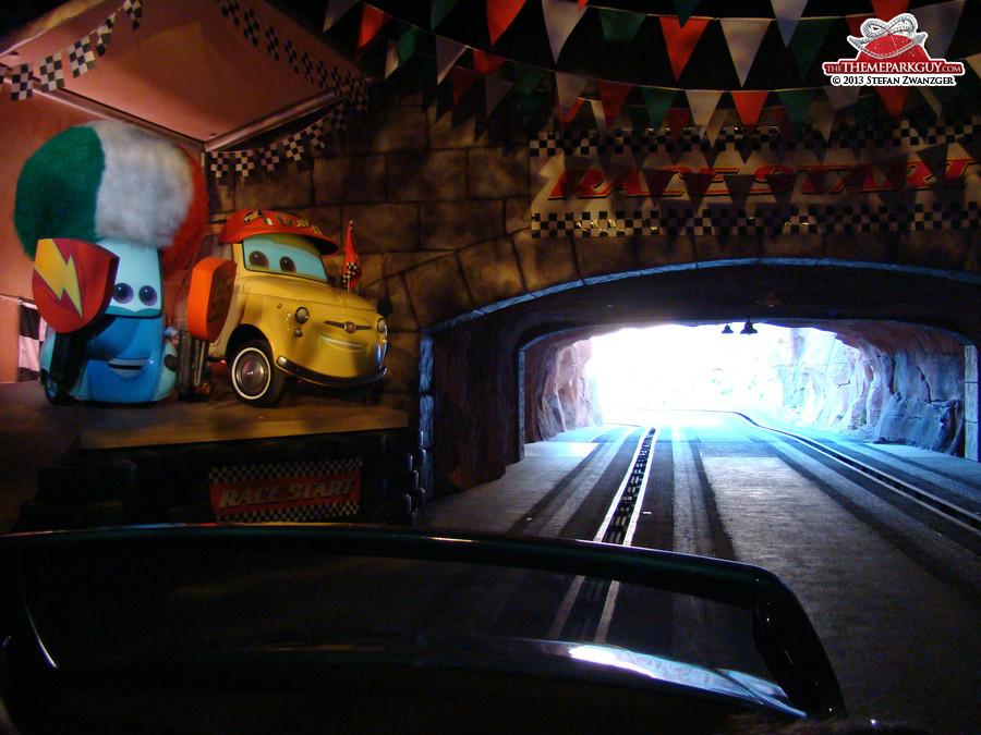 Dark ride meets thrill ride