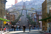 An illusion of San Francisco