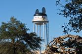 The former landmark of the park