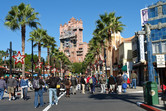 Disney's Hollywood Studios street