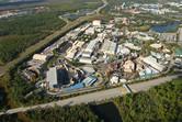 Disney's Hollywood Studios aerial view