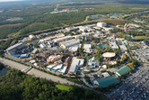 Disney's Hollywood Studios seen from the helicopter