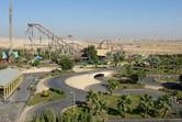 Rollercoaster in the desert