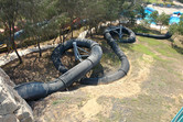This covered slide is extremely fast