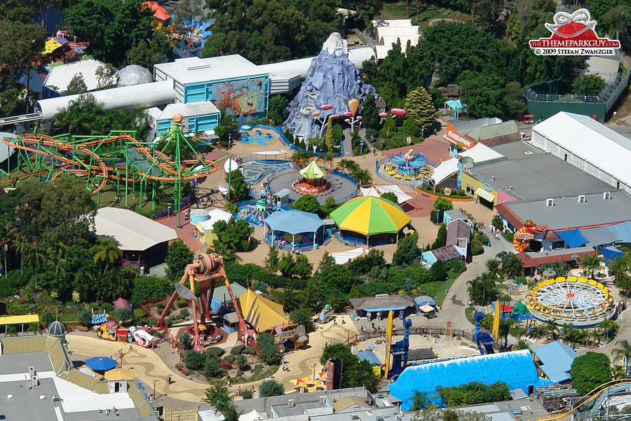 Dreamworld aerial view