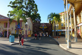 Dreamworld street setting