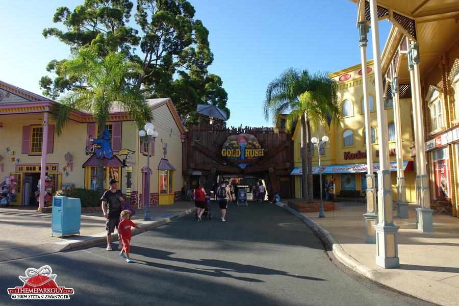 Dreamworld street setting