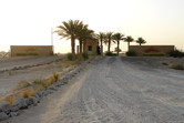 Al Sahra Desert Resort entrance