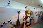 Dreamworks theme park poster