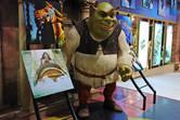 Shrek in the Dubailand sales office