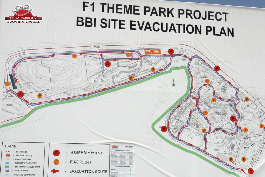 Site plan up close