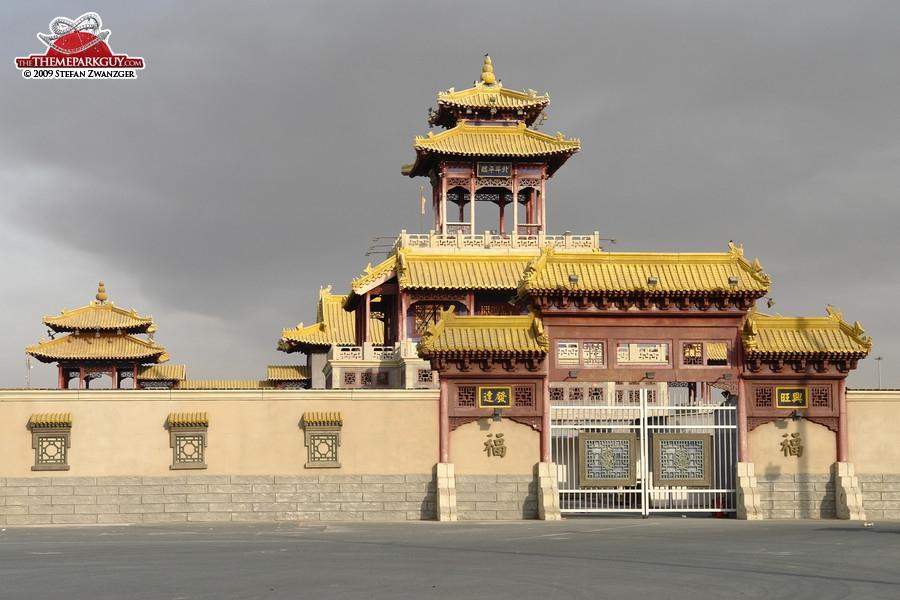 Temple inside Global Village