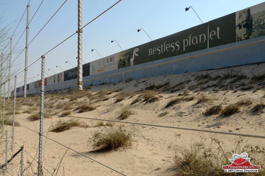 Restless Planet billboard