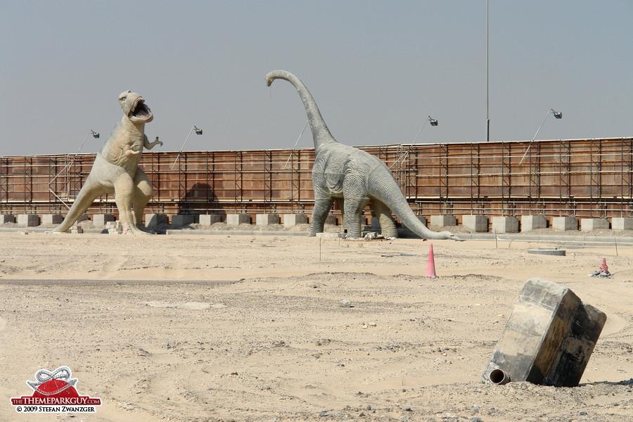 Restless plastic dinosaurs
