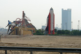 Dubailand sales center from a different angle
