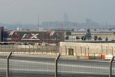 F-1 X billboard, with Burj Al Arab in the background