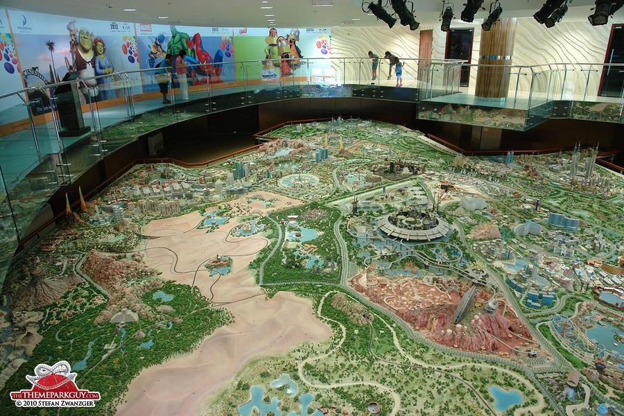 Dubailand sales center model