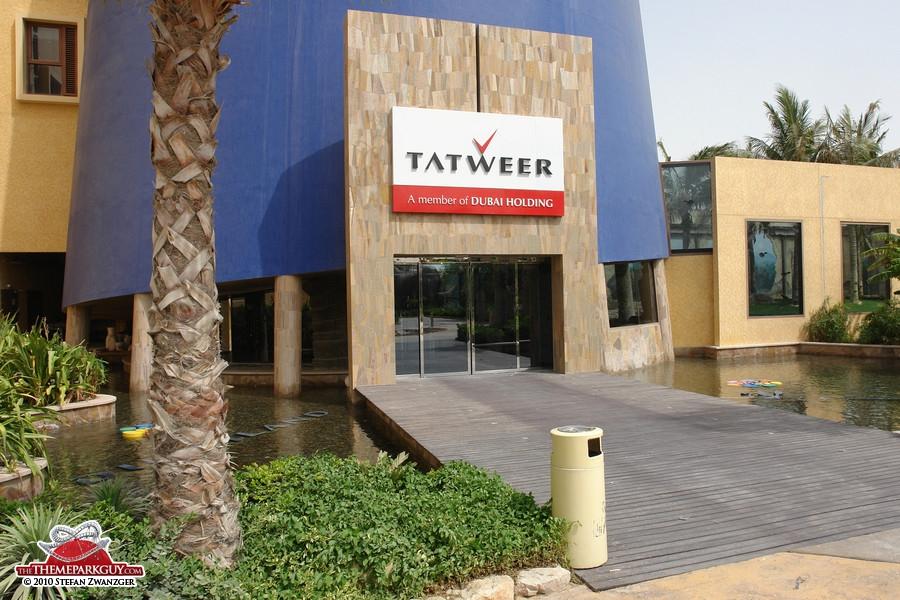 Sales center entrance