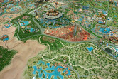 Endless theme park territory
