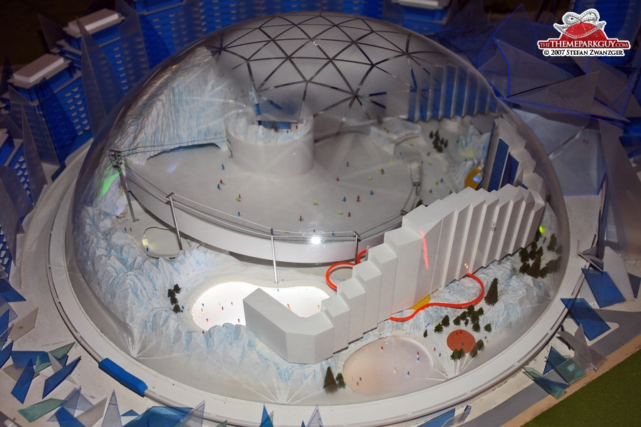Proposed Ski Dome