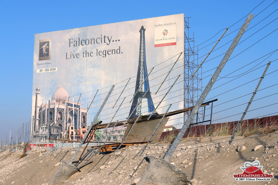 Falcon City of Wonders billboard