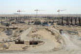 Mall of Arabia construction site