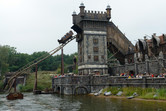 Flying Dutchman roller coaster section