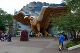 'Bird Rok' indoor roller coaster