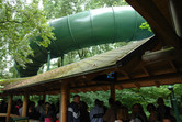 Queue for Efteling's bobsled ride