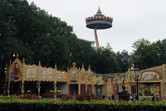 Efteling's famous crooked observation tower
