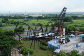 Enchanted Kingdom's sole roller coaster
