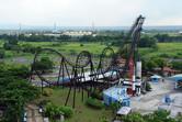 Enchanted Kingdom's sole roller coaster
