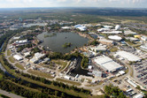 Epcot from above