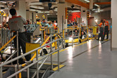 Test Track loading station